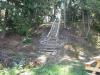 Den nya trappan till åsen är klar