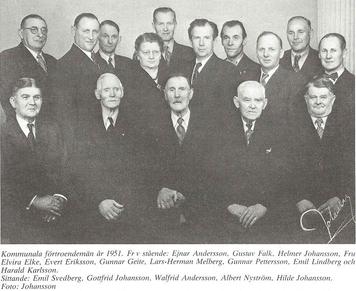 1951 kommunalmän i Härnevi